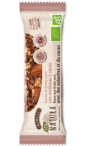 Eco Natura Nut Bars with Hazelnuts and Cacao - barritas de avellana